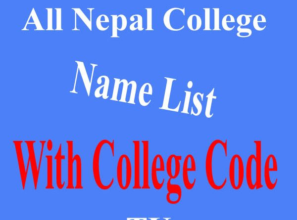 College Code with College name