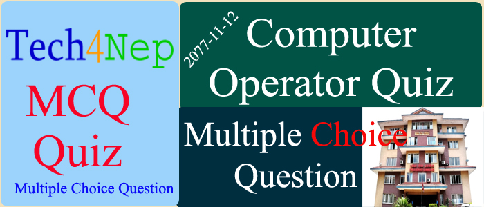 Computer Operator Question Collection