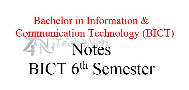 BICT Notes