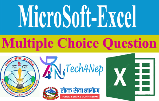 Multiple Choice Question of Microsoft Excel