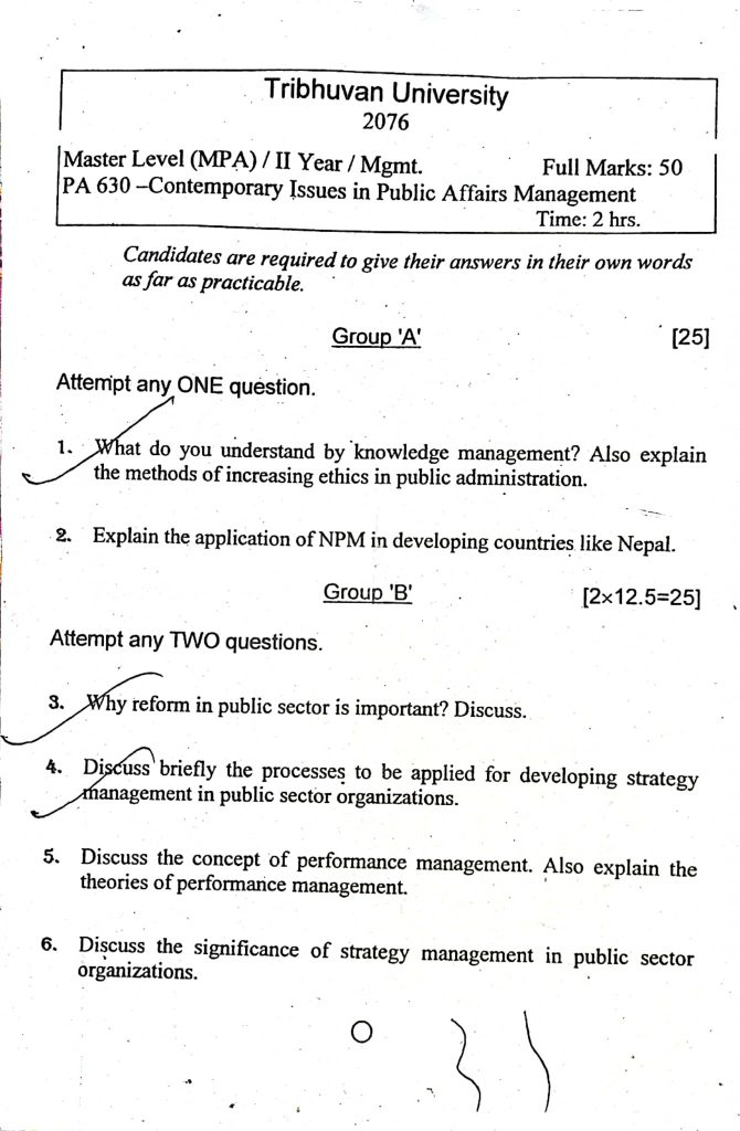 MPA Old Question Collection 2076 image file